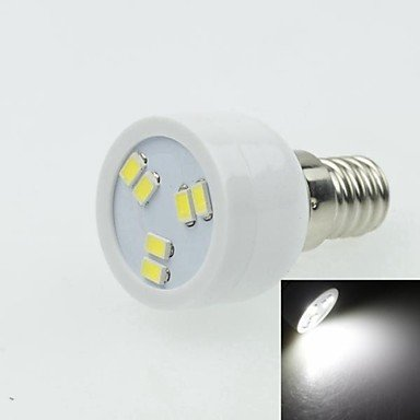 E14 2W 6Led 5730Smd 90-120Lm 6000-7500K Ac220-240V Spotlight White - White + Silver