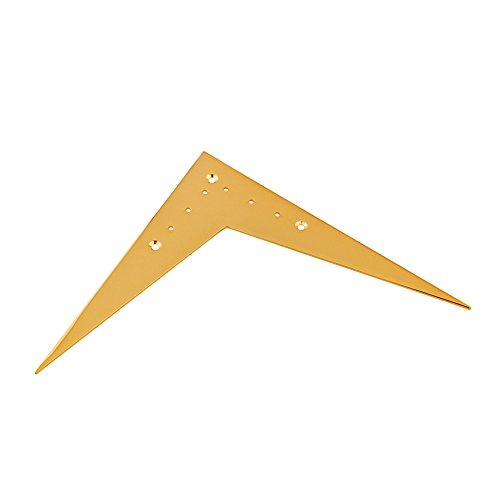 Neewer® Bridge Tailpiece For Gibson Flying V Guitar String Spacing 15Mm Gold