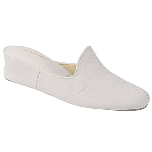 buy low price daniel green juniors womens white open toe daniel green women s dormie bedroom slipper