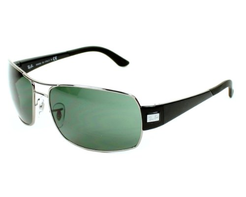 c8eec699bfe Purchase Ray Ban RB3426 Sunglasses - 004 71 Gunmetal (Gray Green Lens) -  61mm