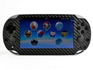 COSMOS ® Carbon Design Protective Decal Skin Sticker for Sony Playstation PS Vita Handheld+ Cosmos cable tie