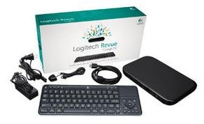 Logitech Revue With Google TV - 970-000001 - Includes Revue Companion Box and Keyboard Controller Black Friday & Cyber Monday 2014