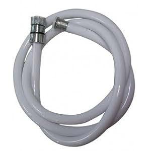 Expert by net - Flexible et douchette - Flexible douche blanc longueur 1500mm