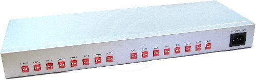 Cablematic - USB a RS-422/485 VSCOM (16-Port 1U DINRail/Rack19)