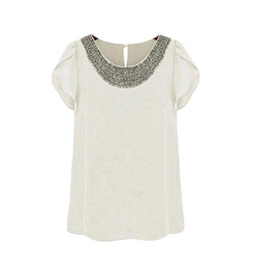women-casual-short-sleeve-slim-batwin-chiffon-t-shirts-elegant-tops-blouse-white-medium