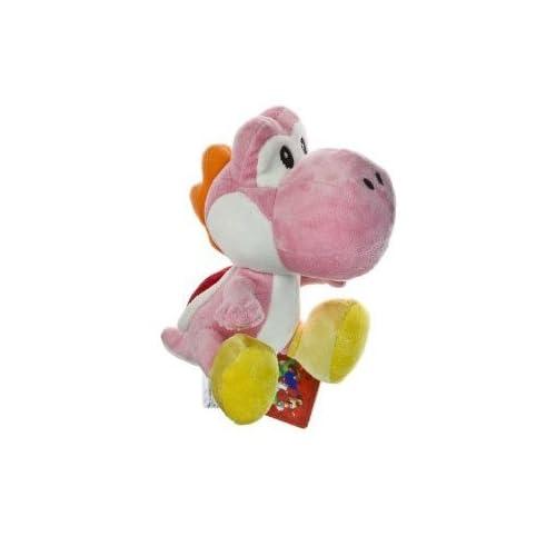 Nintendo Super Mario Bros. Wii Plush Toy   6 Pink Yoshi