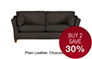 Fenton Medium Sofa - Leather
