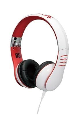Vestax HMX-05 - White Trim - Pro Audio / DJ Headphones