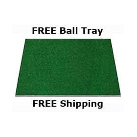 3' x 5' Dura-Pro Plus Residential Golf Mat FREE Golf Ball Tray, FREE Balls and FREE Tees With Every Order- FREE SHIPPING - 8 Year UV Warranty - Dura-Pro Golf Mats Make All Other Golf Mats Obsolete! Family Owned And Operated Since 1997