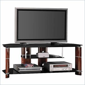 Cheap Bush Segments 58 Inch Wood TV Stand and Audio Rack Set (VS11560-AD11540A)