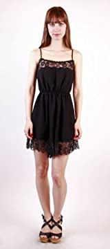 OPEN FIELDS ROMPER BLACK