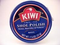 Kiwi Shoe Polish Paste Navy Blue