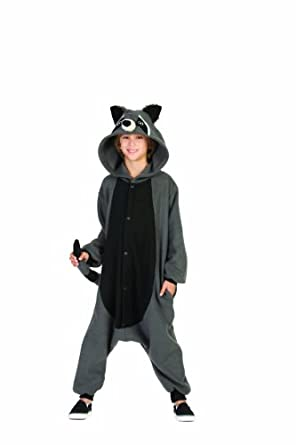 RG Costumes 'Funsies' Rocky Raccoon, Child Medium/Size 8-10