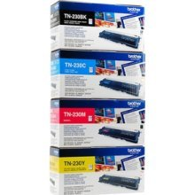 Brother Full Set includes Standard Capacity Laser Toner Cartridge for HL-3040CN/ HL-3070CW/ DCP-9010CN/ MFC-9120CN/ MFC-9320CW - Cyan/ Magenta/ Yellow/ Black