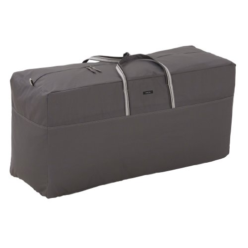 Classic Accessories Ravenna Patio Cushion & Cover Storage Bag - Premium Outdoor Cover with Durable and Water Resistant Fabric (55-180-015101-EC)