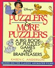 img - for Puzzlers & More Puzzlers: A Big Book of Puzzles Games and Brainteasers book / textbook / text book