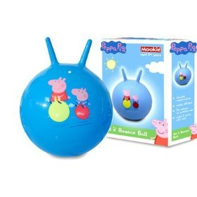Amazon.com: Peppa Pig Sit 'N' Bounce Ball Hopper Toy: Toys & Games