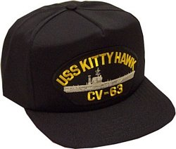 USS Kitty Hawk Ballcap