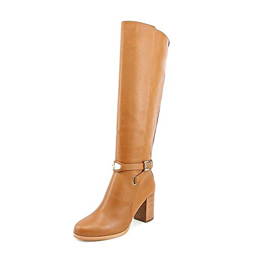 Michael Kors Arley Womens Size 5.5 Brown Leather Fashion Knee-High Boots