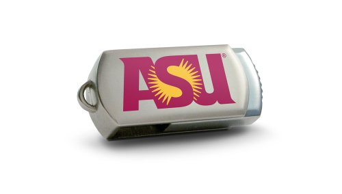 Centon Electronics Arizona State Sun Devils DataStick Twist 4 GB USB 2.0 Flash Drive DSTC4GB-ASU
