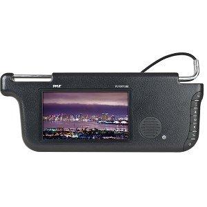 PYLE PLVSR71BK 7-Inch TFT/LCD Right Sun Visor Monitors (Black)