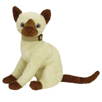 Siam the Siamese Cat Ty Beanie Baby