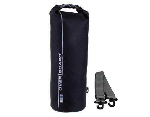 OverBoard Dry Tube Bag - Black, Medium/12 Litre by Overboard