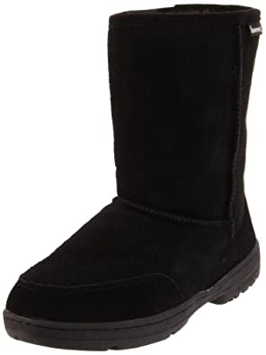 Bearpaw Womens Meadow Short 604W Boot,Black,UK 3 / UK 3