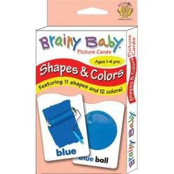 Brainy Baby Shapes & Colors Flashcards