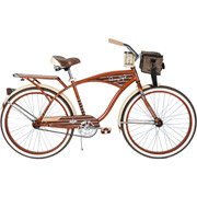 Buy 26 Huffy Panama Jack Mens Cruiser Bike, Root Beer Jimmy Buffet Style by Huffy