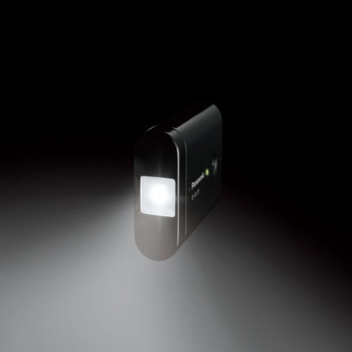 Panasonic モバイルバッテリー 5,400mAh USBモバイル電源 ブラック QE-QL201-K