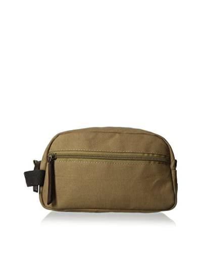 Timberland Men's Canvas Travel Kit, Olive