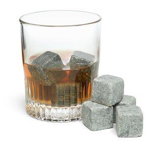 Teroforma Whisky Ice Stones 9個set◆お酒を薄めないオシャレな石のアイスキューブ◆ 【輸入品】 (Pure soapstone)