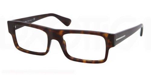 pradaPrada PR24PV Eyeglasses-2AU/1O1 Havana-53mm