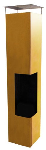 La-Hacienda-56075US-Oxidized-Corten-Steel-Construction-Tacora-Chimenea-36-by-59-Inch