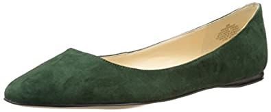 Nine West Women's Speakup Ballet Flat,Green,5 M US