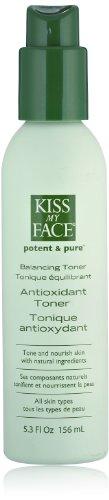 Kiss My Face Balancing Antioxidant Facial Toner and Skin Toner, 5.3 Ounce Bottles (pack of 3)