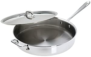 All-Clad Stainless 6-Quart Saute Pan by All-Clad