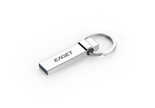 Eaget® New U90 32GB USB 3.0 High Speed Portable External Metal Flash Drive Media Storage , Special Design Key Ring