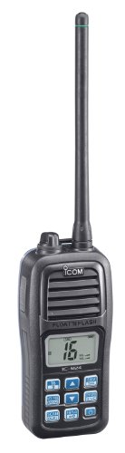 Icom M24 Handheld Marine VHF Radio with 5-Watts Power