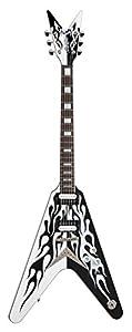 Dean Michael Schenker Custom Guitar, Flames with Case