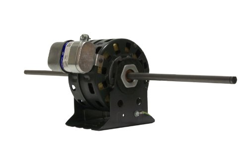 Fasco D1055 5.0-Inch Diameter Psc Motor, 1/12-1/30-1/50 Hp, 115/127 Volts, 1375 Rpm, 3 Speed, 1.4-.6-.4 Amps, Ds Rotation, Sleeve Bearing