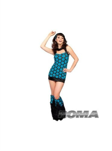 2Pc Disco Diva Costume