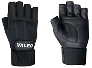 Valeo Competition Wrist Wrap Lifting Gloves by Valeo