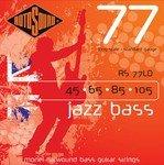 RotoSound RS77LD フラットワウンド ベース弦 × 2セット
