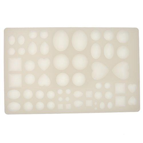 Moules en Silicone Outils pour Fabrication de Pendentif Bricolage Bijoux Résine Diy