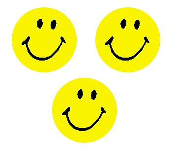 Trend Enterprises Neon Yellow Smiles Super Spots Stickers (T-46139) - 1