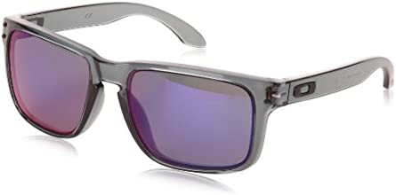 Oakley Unisex Holbrook Sunglasses, Black (crystal Black/emerald Iridium), taille_unique (Manufacturer size: Taille Unique)