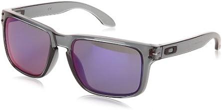 Oakley Unisex Holbrook Sunglasses, Black (crystal Black/emerald Iridium), taille_unique (Manufacturer size: Taille Unique)