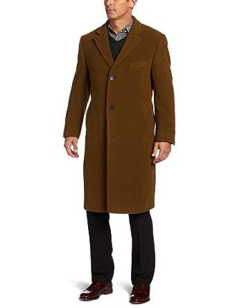 Calvin Klein Men's Calvin Coat, Vicuna, 42 Long